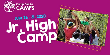 Junior High Camp tickets
