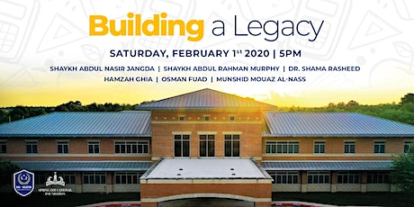 Building A Legacy - Benefit Dinner tickets