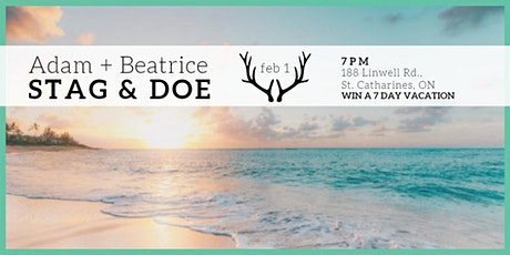 Adam + Beatrice Stag & Doe tickets
