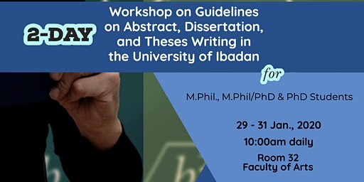Workshop on Guidelines on Abstract, Dissertation, and Theses Writing in UI