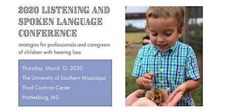 Listening and Spoken Language Conference 2020 tickets