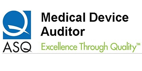 Medical Device Auditor Training tickets