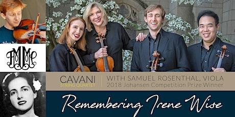 Friday Morning Music Club: Cavani Quartet tickets