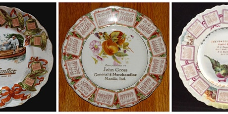 The American Advertising Calendar Plate tickets