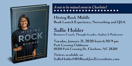 Sallie Holder HITTING ROCK MIDDLE Launch Party tickets