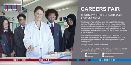 Careers in Education Fair tickets