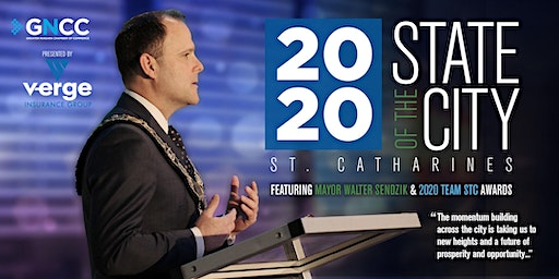 State of the City 2020 - St. Catharines
