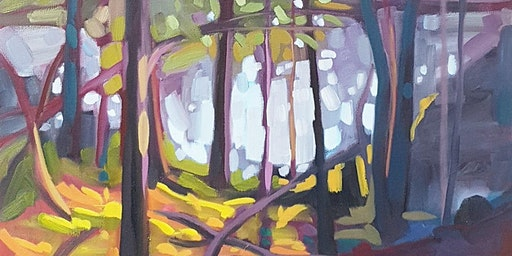1 Day Paint a Forest Scene with Michelle Reid (choose your season)