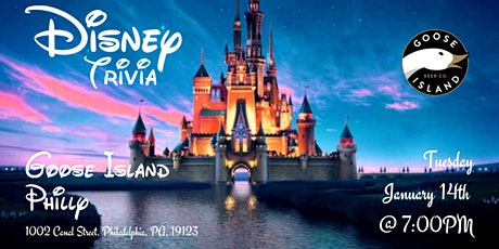 Disney Trivia at Goose Island Philly tickets