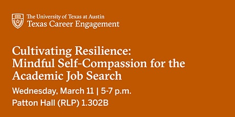 Cultivating Resilience: Mindful Self-Compassion for the Academic Job Search tickets