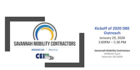 Come Join Savannah Mobility Contractors as we Kickoff the 2020 New Year! tickets