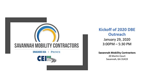 Come Join Savannah Mobility Contractors as we Kickoff the 2020 New Year!