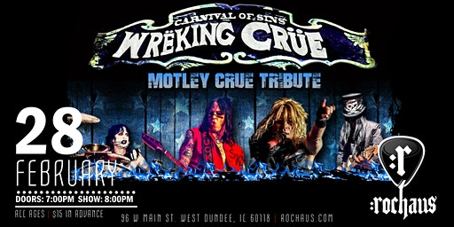 Wreking Crue-the Tribute to Motley Crue