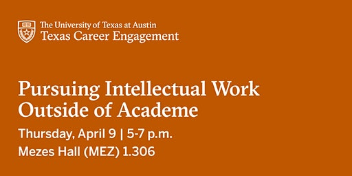 Pursuing Intellectual Work Outside of Academe