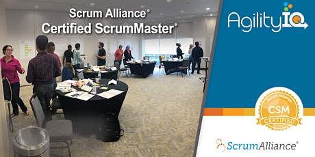 Certified Scrum Master Training (CSM) tickets