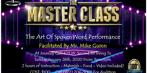 The Spokenword Master Class Series