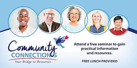 Stockton Community Connections: Preparing for Medicare Open Enrollment tickets