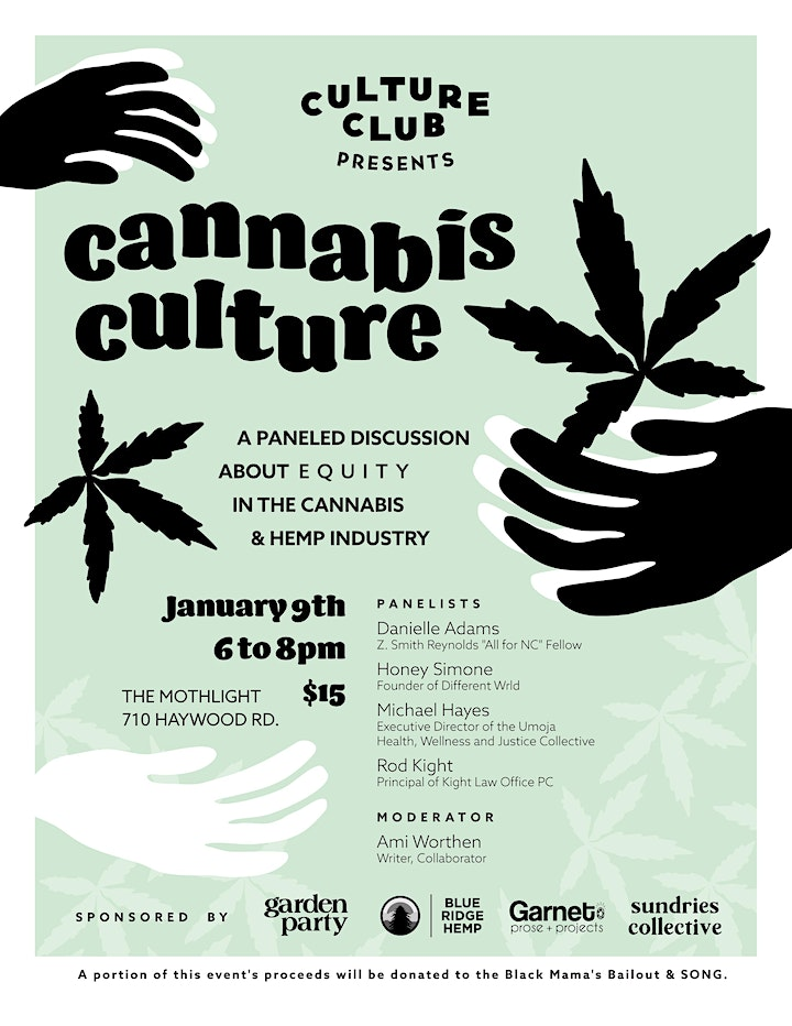 Cannabis Culture: A Paneled Discussion About Equity In the Cannabis & Hemp image