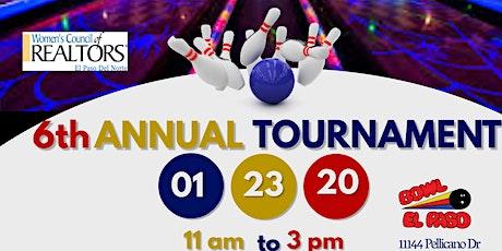 6th Annual Bowling Tournament tickets