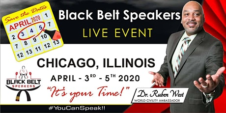 Black Belt Speakers Live Training, April 2020 tickets