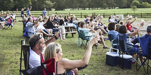 Heart Tribute by Even It Up Smore's and Great Texas Wine at BarnHill Vineyards!