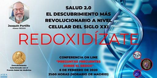 SALUD 2.0. PREGUNTAS FRECUENTES SOBRE LAS MOLÉCULAS DE SEÑALIZACIÓN REDOX