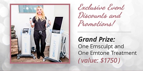 EMSCULPT® and EMTONE™ Consultation Event tickets