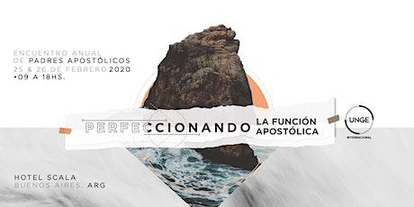 ENCUENTRO ANUAL PADRES APOSTOLICOS - EXT entradas