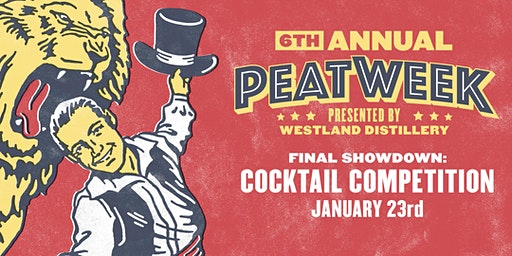 Peat Week 2020: Cocktail Competition
