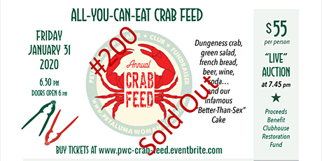 PWC All You Can Eat Crab Feed tickets