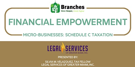 Financial Empowerment for Micro-Business: Schedule C Taxation tickets