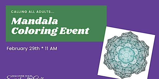 Mandala Coloring Event