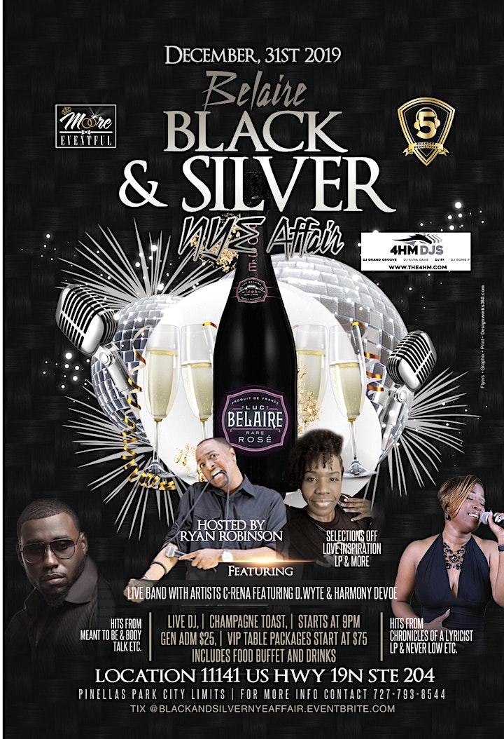 Black and Silver NYE Affair image
