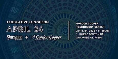 Legislative Luncheon for April 2020 - Hosted by Shawnee Forward tickets