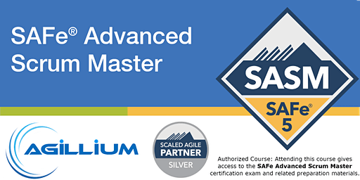 SAFe® Advanced Scrum Master w/SAFe® 5 Advanced Scrum Master Certification @ Newark, NJ (CONFIRMED TO RUN)