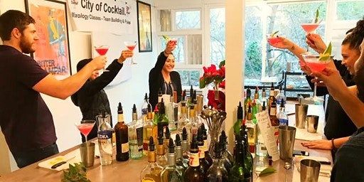 Valentines Day Mixology Workshop with City of Cocktail™ - Date Night