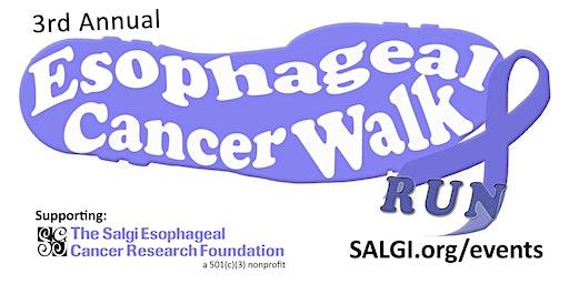 3rd Annual Esophageal Cancer Walk/Run