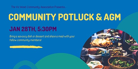 Vic West Community Potluck & AGM tickets