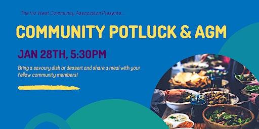 Vic West Community Potluck & AGM