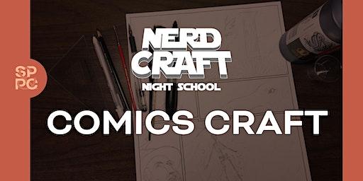 Nerd Craft Night School: Comics Craft, 01/27 & 01/28