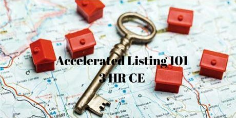 Accelerated Listing 101 CE Class