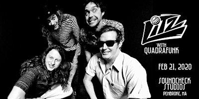 Litz with QuadraFunk at Soundcheck Studios