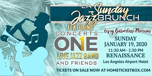 LA Sunday Jazz Brunch *January 19* MLK Holiday Edition