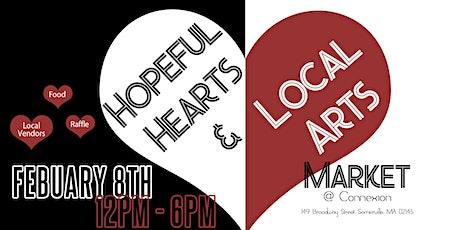 Hopeful Hearts & Local Art tickets