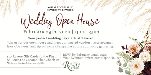 Revere Golf Club Wedding Open House