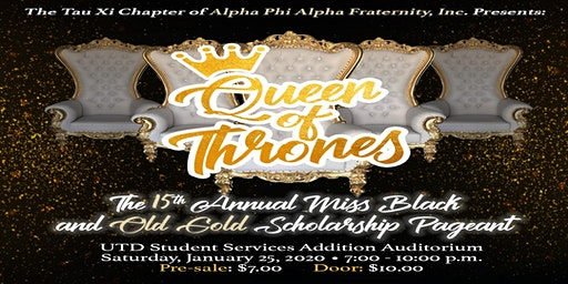 The 15th Annual Miss Black and Old Gold Scholarship Pageant