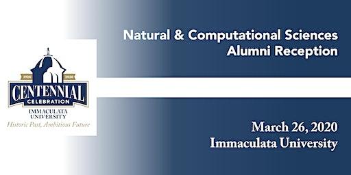 Natural & Computational Sciences Alumni Reception