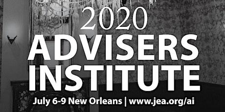 JEA Advisers Institute 2020 tickets