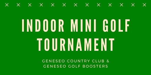 Indoor Mini Golf Fundraiser at the Geneseo Country Club