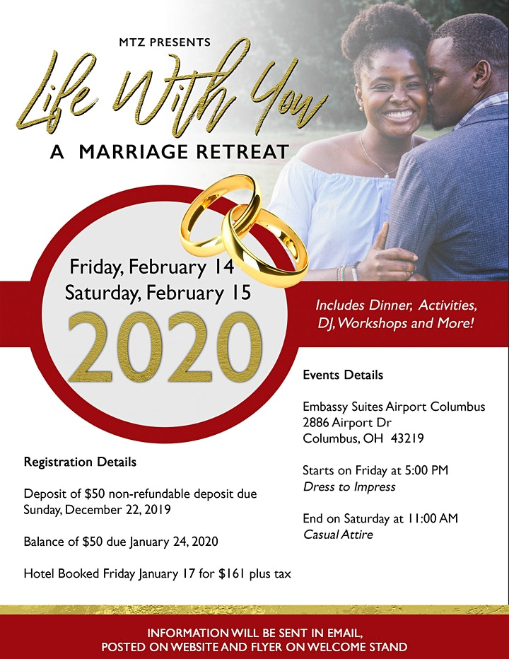 Life With You - Marriage Retreat image